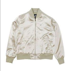 Billionaire Girls Club • Leather Varsity Jacket